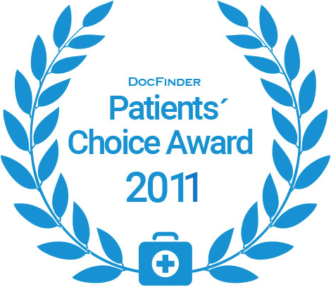 Docfinder Patients' Choice Award 2011